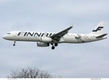 Finnair Airbus A321-200(SL) OH-LZL (TXL 2.12. 2017)