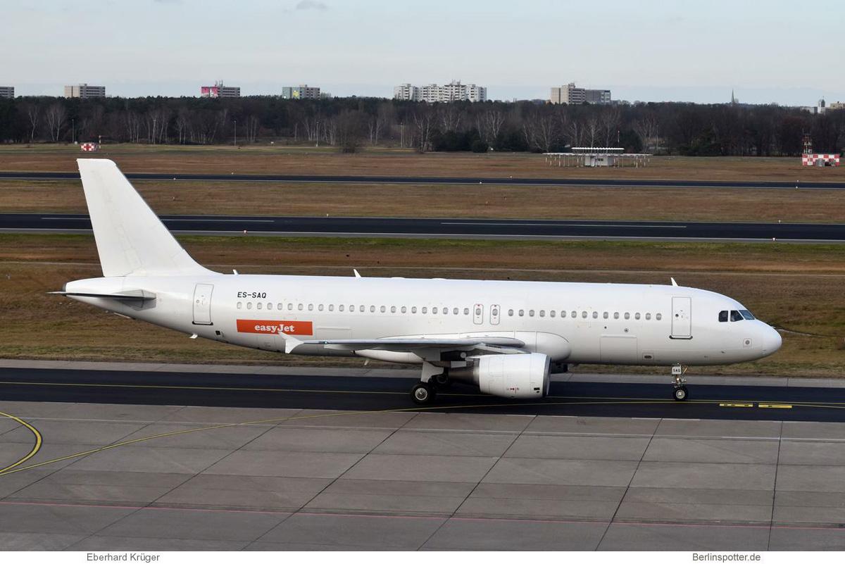 easyJet Airbus A320-200 ES-SAQ