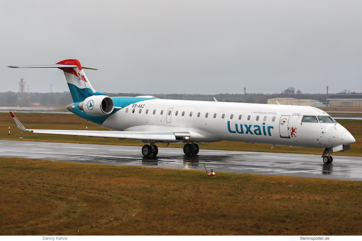 Luxair Bombardier CRJ700 S5-AAZ