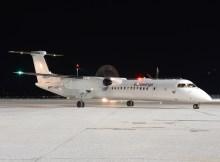 Eurowings Bombardier Q400 (© SZG Airport)