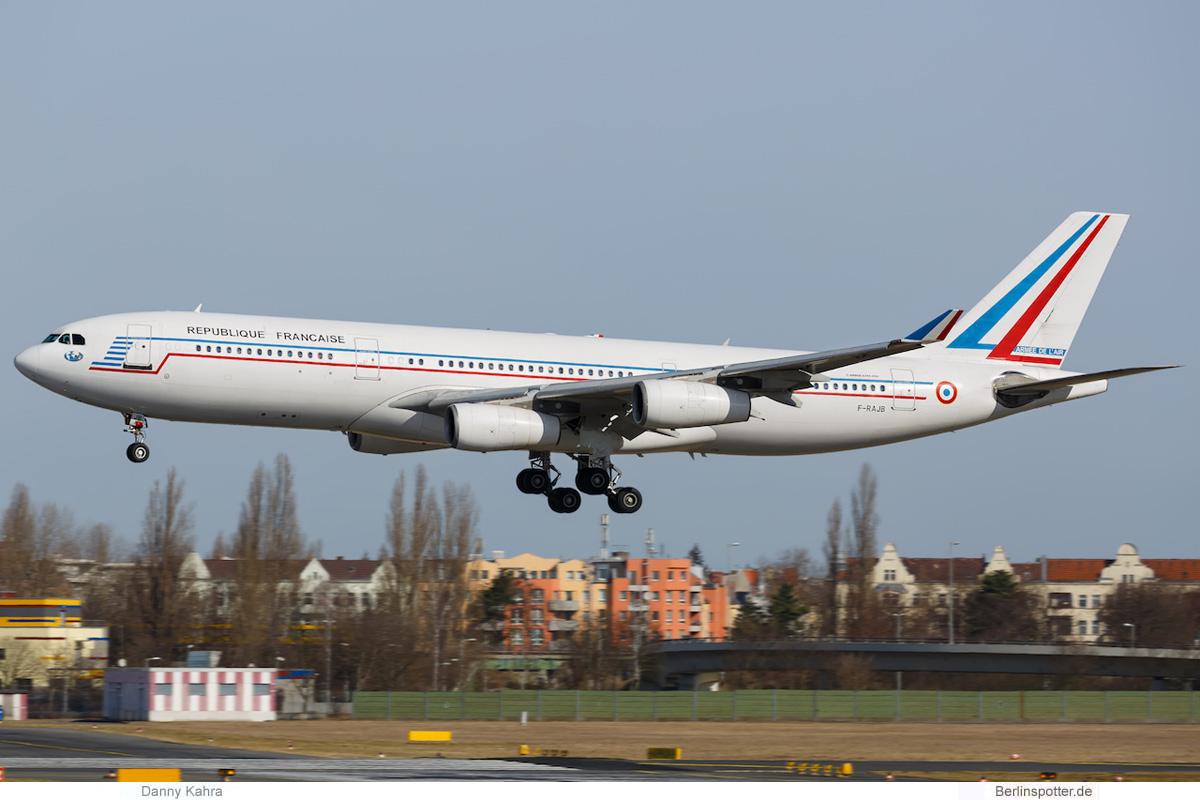 Frankreich Airbus A340-200 F-RAJB