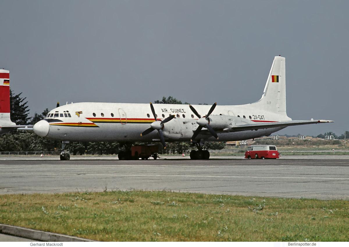 Air Guinee Ilyushin Il-18D 3X-GAT