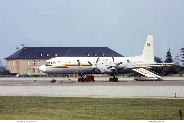 Air Guinee, Ilyushin Il-18D 3X-GAT