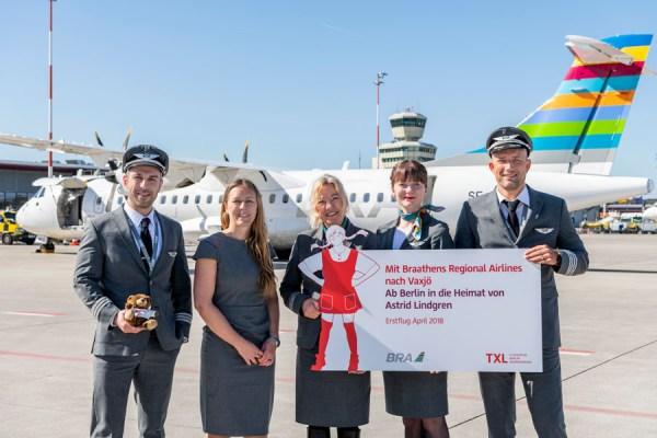 Die schwedische Airline fliegt zweimal wöchentlich – jeweils freitags und sonntags – in die Heimat von Astrid Lindgren. (© G. Wicker/FBB)