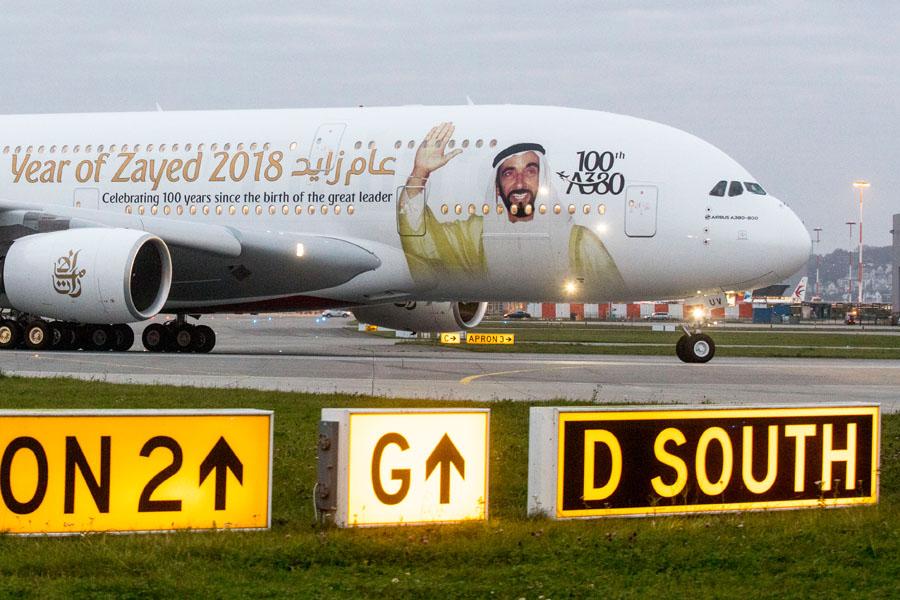 ILA 2018: Emirates schickt besonderen A380