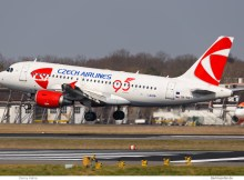 CSA Czech Airlines, Airbus A319-100 OK-NEO (TXL 9.4. 2018)