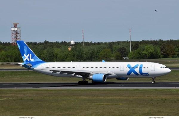 XL Airways France, Airbus A330-300 F-HXLF (TXL 4.5. 2018)