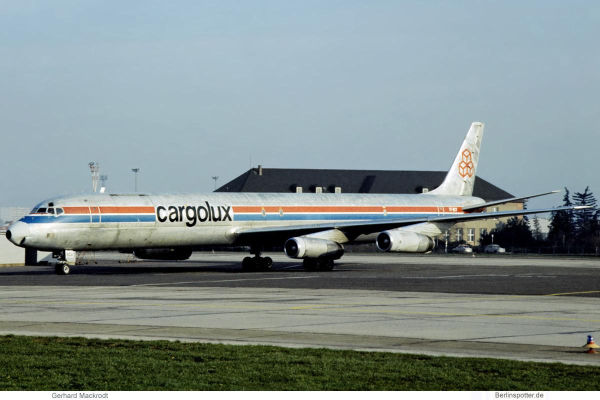 Cargolux, McDonnell-Douglas DC-8-63CF TF-BCV