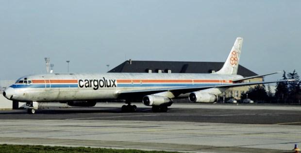 Cargolux, McDonnell-Douglas DC-8-63CF TF-BCV (SXF 16.5. 1979