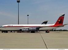 DETA Linhas Aereas de Mocambique, Boeing 707-338C G-BFLE (SXF 23.5. 1980)