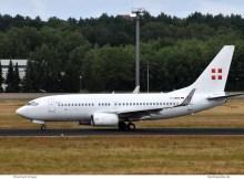 PrivatAir, Boeing 737-700(BBJ) D-AWBB (TXL 11.7. 2018)