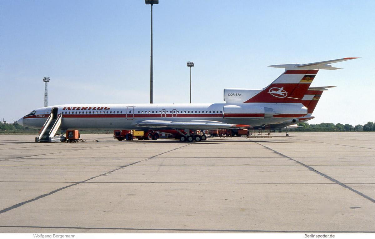 Flugbereitschaft der DDR, Tupolew Tu-154M DDR-SFA