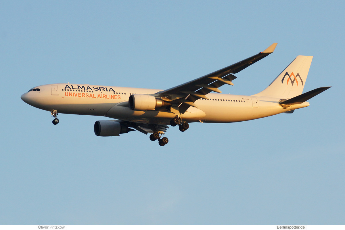 Almasria Universal Airlines Airbus A330-200 SU-TCH