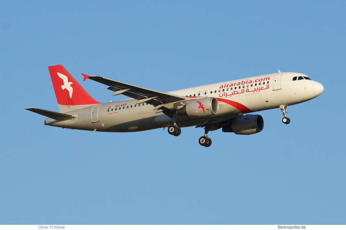 Air Arabia Egypt Airbus A320-200 SU-AAD