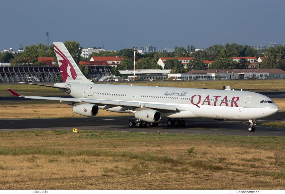 Qatar Amiri Flight Airbus A340-300 A7-AAH