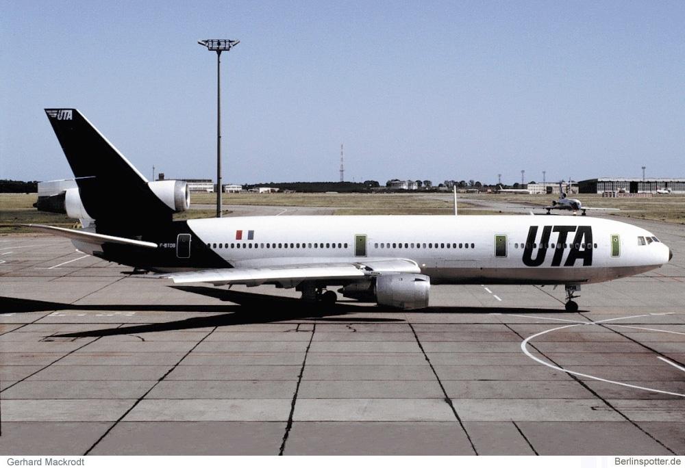 UTA McDonnell-Douglas DC-10-30 F-BTDB