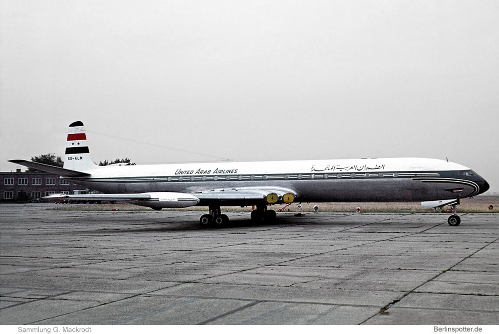 United Arab Airlines De Havilland DH. 106 Comet 4C SU-ALM