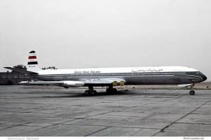 United Arab Airlines, De Havilland DH. 106 Comet 4C SU-ALM (SXF 10/1969)