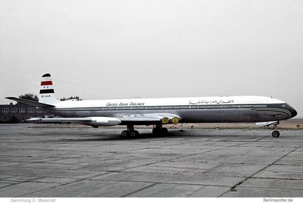 United Arab Airlines, De Havilland DH. 106 Comet 4C SU-ALM (SXF 10/1969)