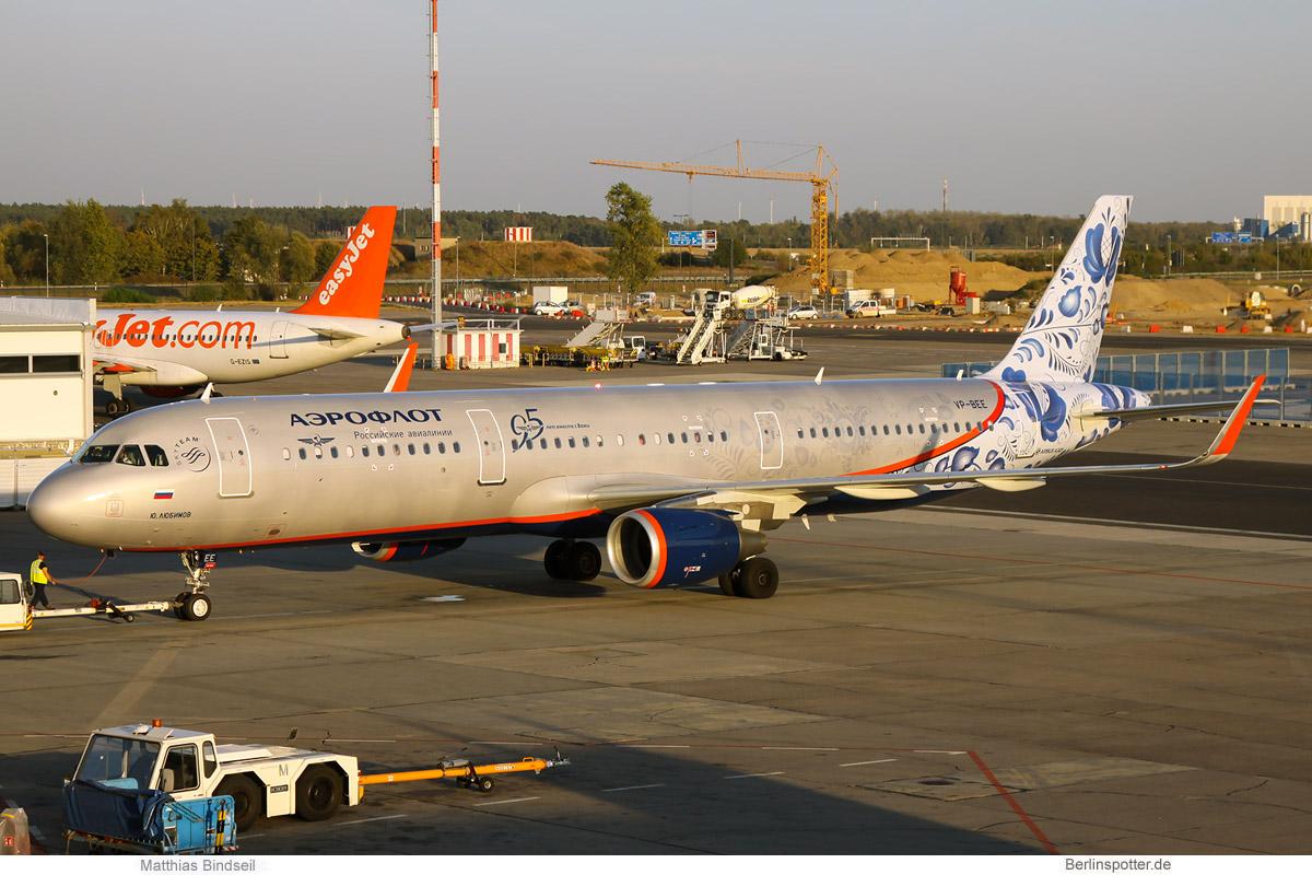 Aeroflot Airbus A321-200(WL) VP-BEE