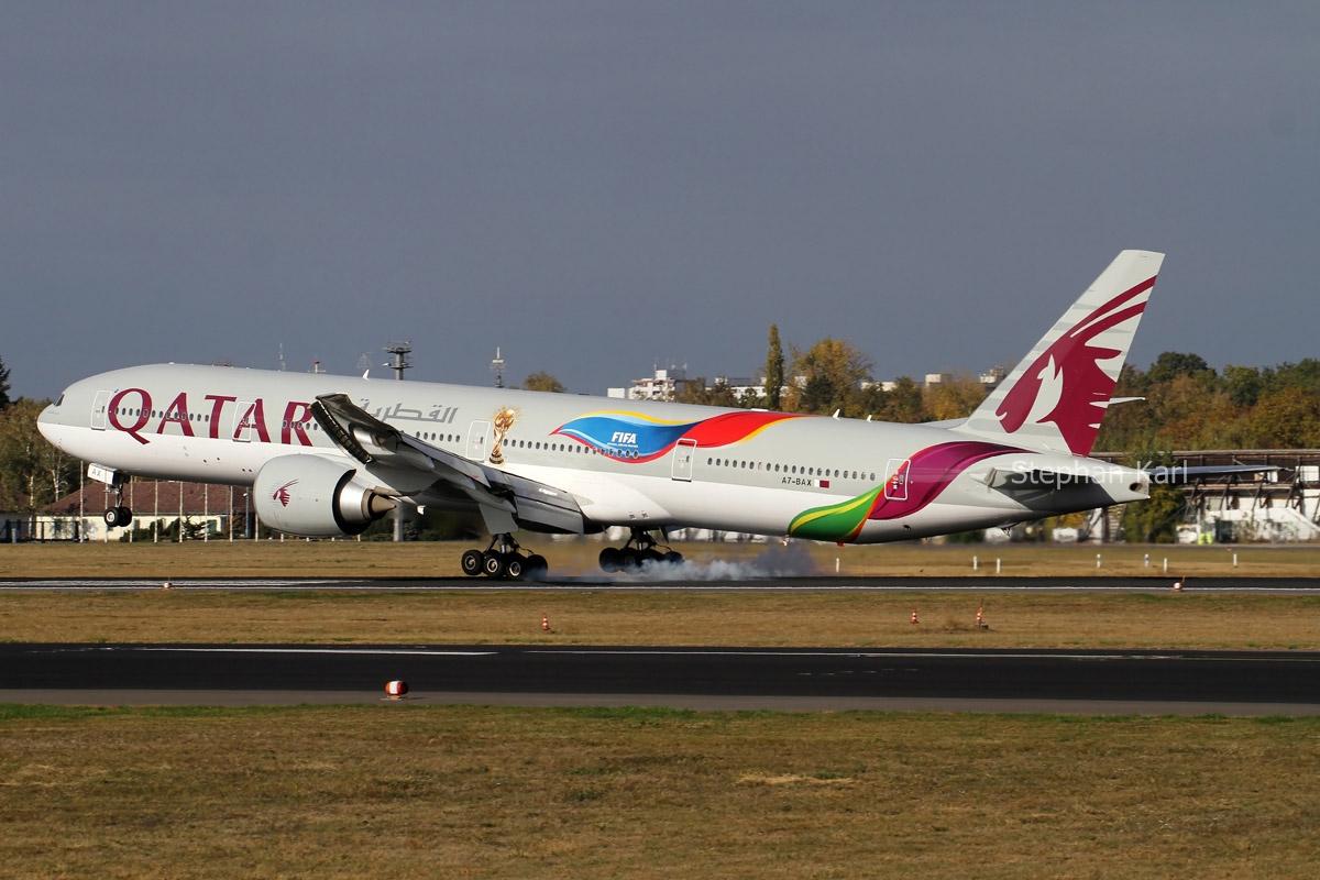 Qatar Airways Boeing 777-300ER A7-BAX
