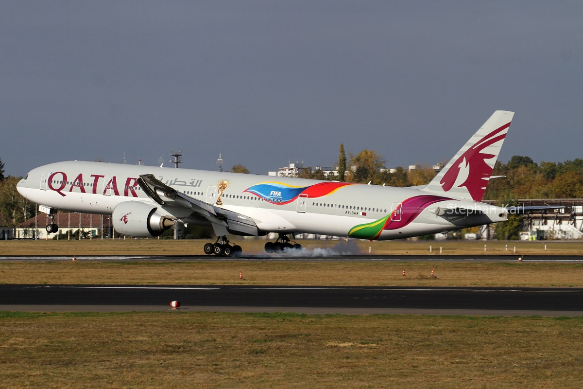 Qatar Airways Boeing 777-300ER A7-BAX