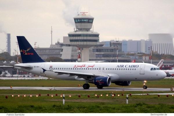 Air Cairo, Airbus A320-200 SU-BPU (TXL 24.10. 2010)