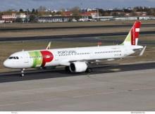 TAP Portugal, Airbus A321neo CS-TJJ (TXL 28.10. 2018)