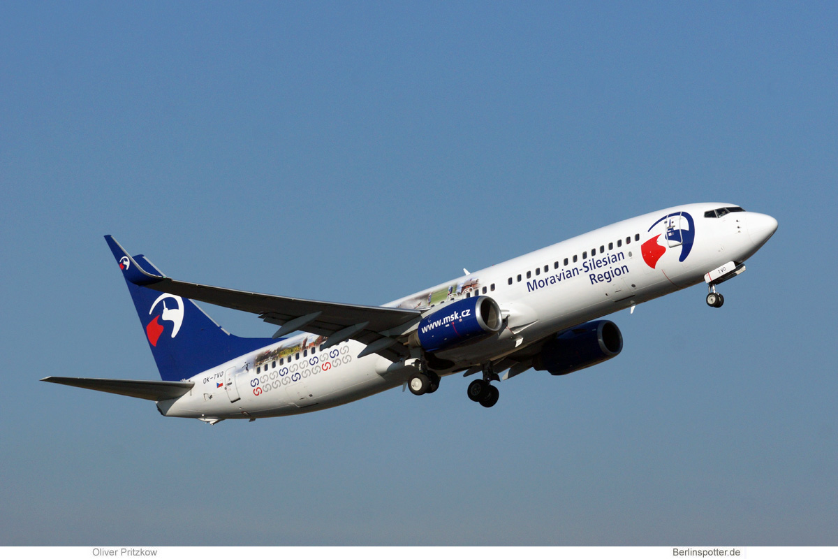 Travel Service Boeing 737-800(WL) OK-TVO