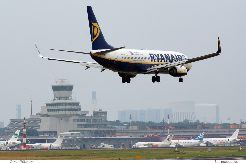 Tegel wird Ryanair-Basis