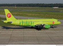 S7 Airlines, Airbus A320-200 VQ-BCP (TXL 21.8. 2011)