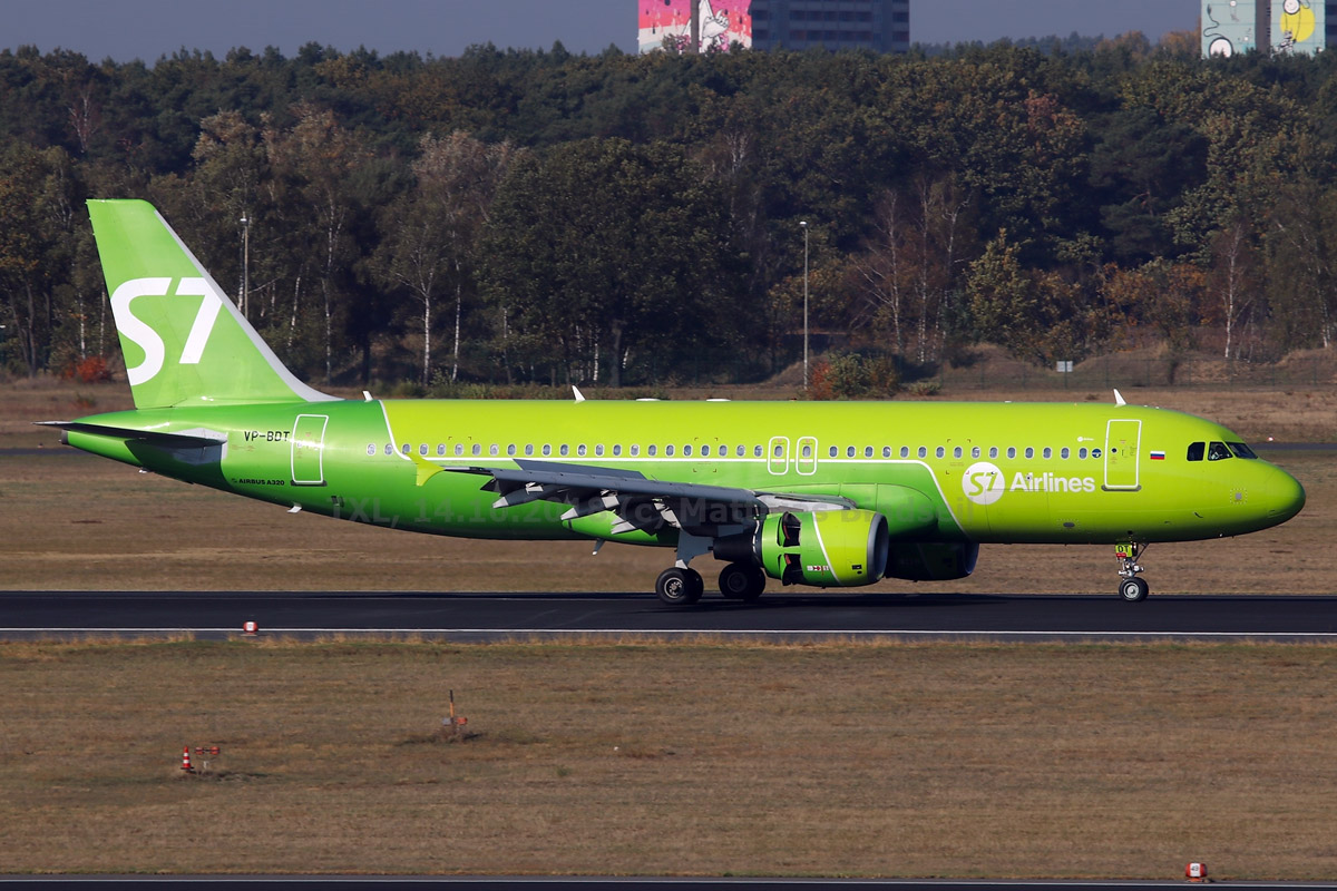 S7 Airlines Airbus A320-200 VP-BDT