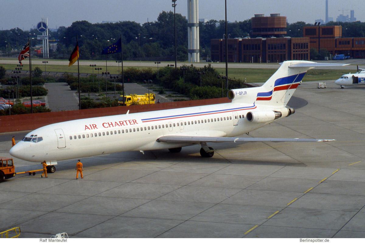 Air Charter Boeing 727-200 F-BPJR