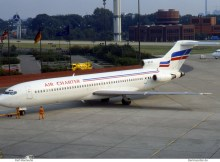 Air Charter, Boeing 727-200 F-BPJR (TXL 08/1988)