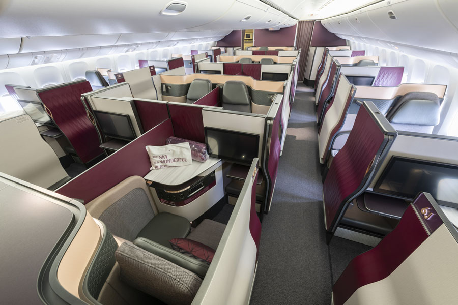 Qatar Airways bringt Qsuite nach Berlin