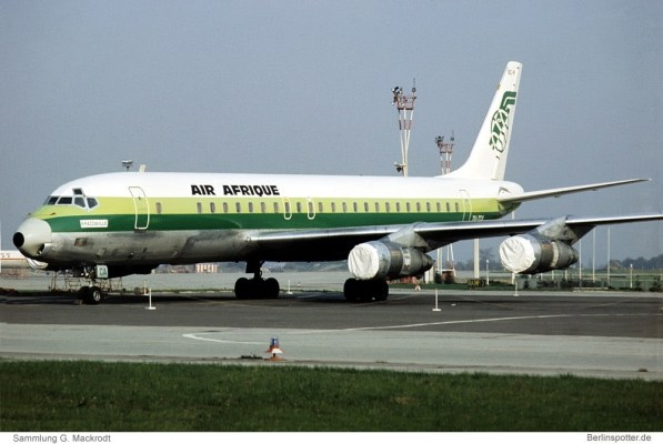 Air Afrique, Douglas DC-8-53 TU-TCA (SXF 11.10.1977)
