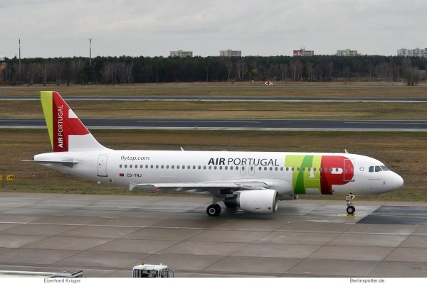 TAP Air Portugal, Airbus A320-200 CS-TNJ (TXL 7.12.2018)