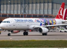Turkish Airlines, Airbus A321-200(SL) TC-JSU, Lego the Movie 2 cs. (TXL 30.11.2018)