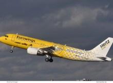Eurowings, Airbus A320-200 D-ABDU, Hertz cs. (TXL 28.1.2019)