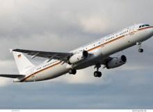 Luftwaffe, Airbus A321-200 15+04 (TXL 10.1.2019)