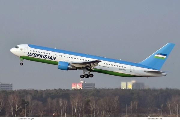 Uzbekistan Gvmt., Boeing 767-300ER UK67000 (TXL 21.1.2018)