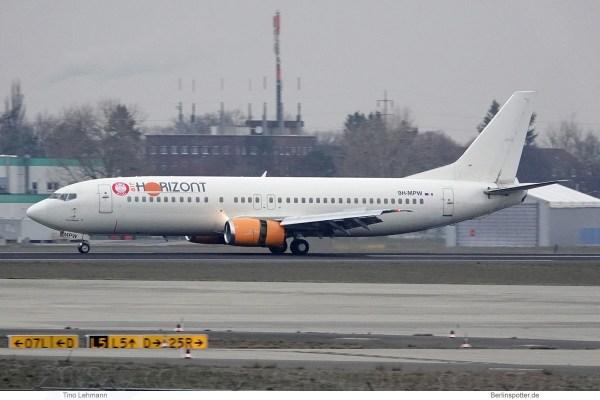 Air Horizont, Boeing 737-400 9H-MPW (SXF 5.2.2019)