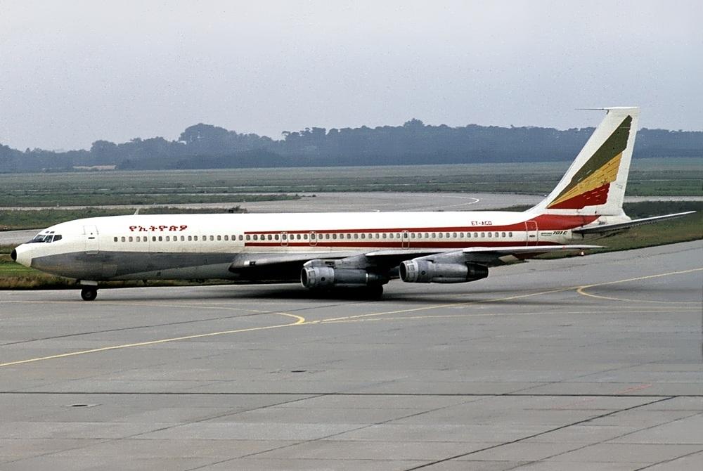 Ethiopian Airlines Boeing 707-360C ET-ACD