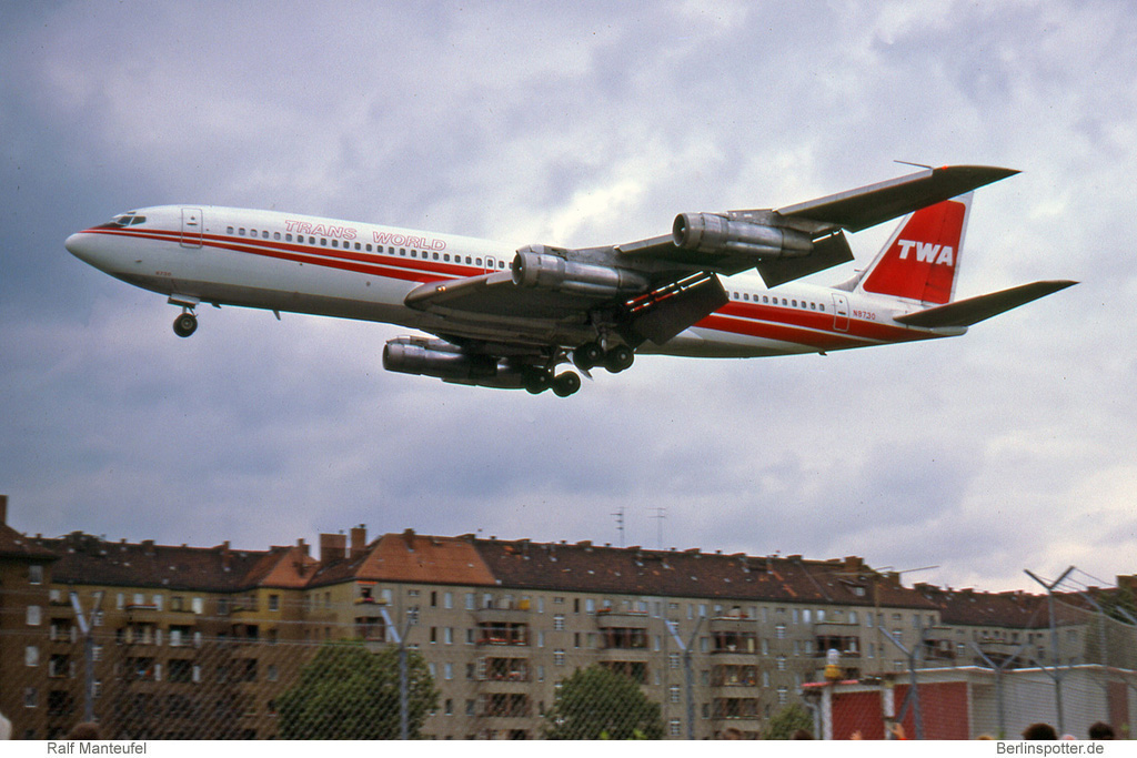 Trans World Airlines Boeing 707-331B N8730