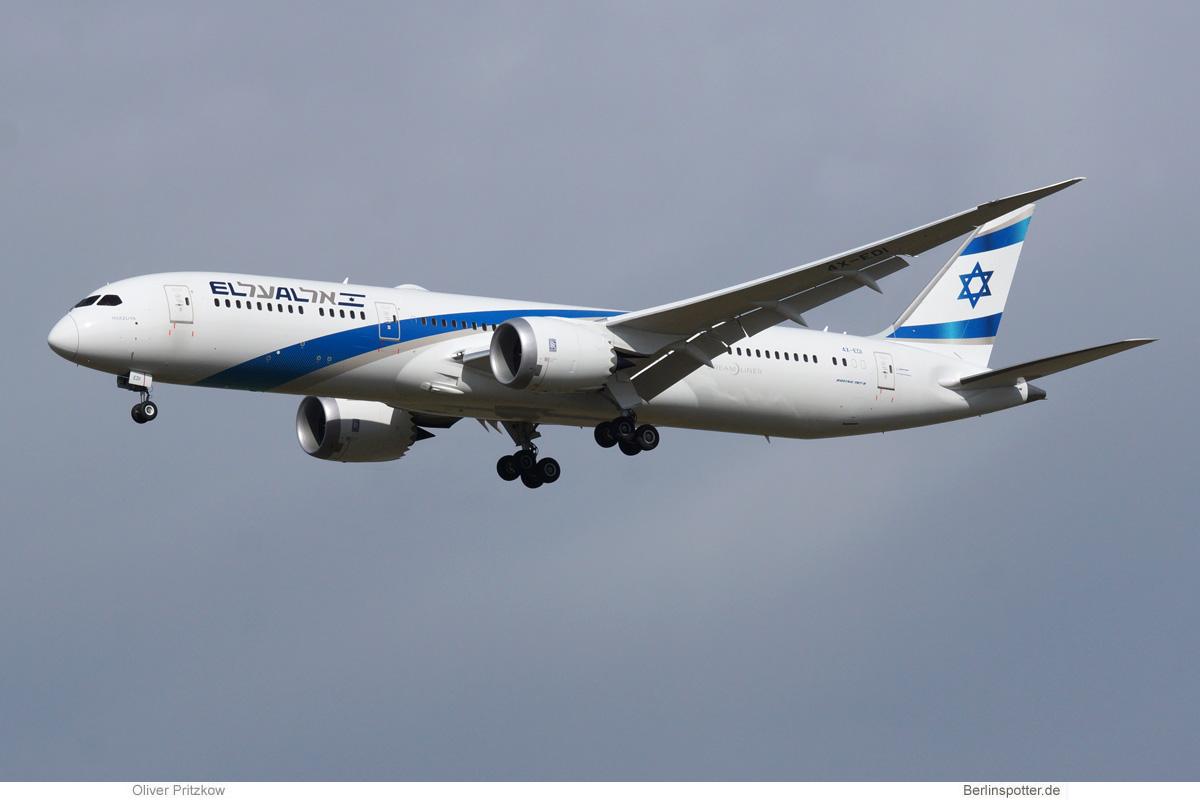 El Al Boeing 787-9 Dreamliner 4X-EDI