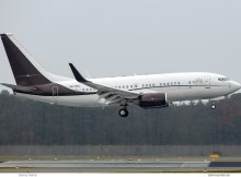 Niederlande, opb Privatjet, Boeing 737-700(BBJ) 9H-BBJ (TXL 22.3.2019)