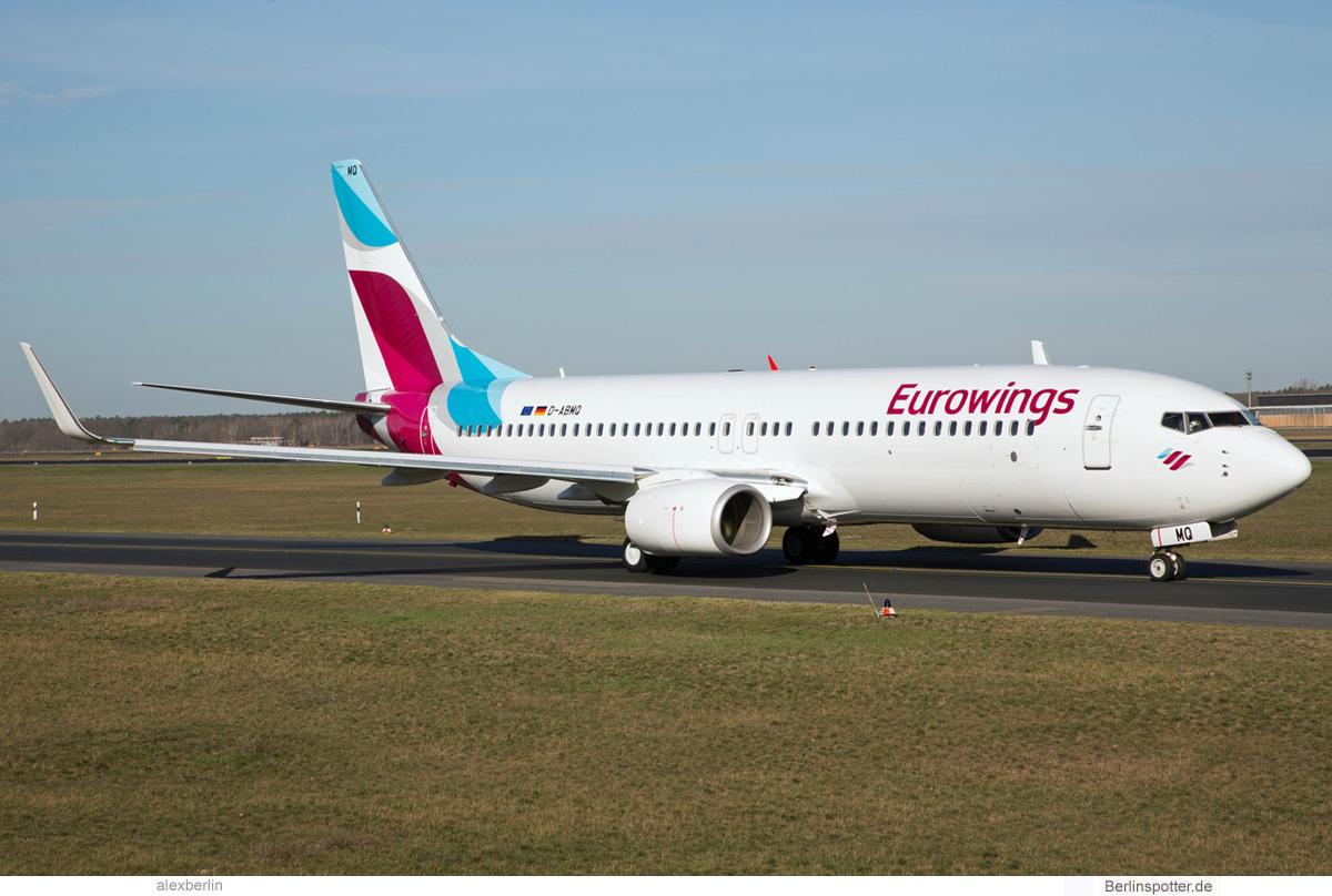 Eurowings Boeing 737-800(WL) D-ABMQ