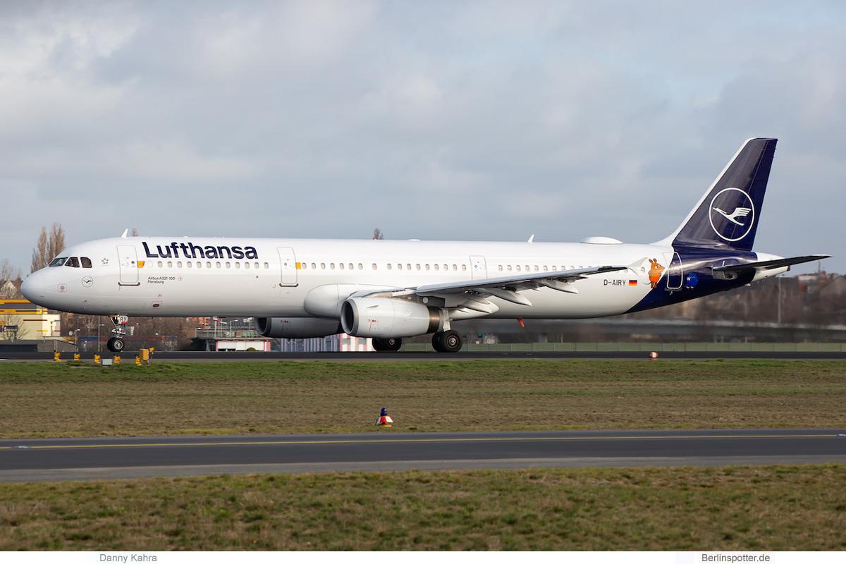 Lufthansa Airbus A321-100 D-AIRY