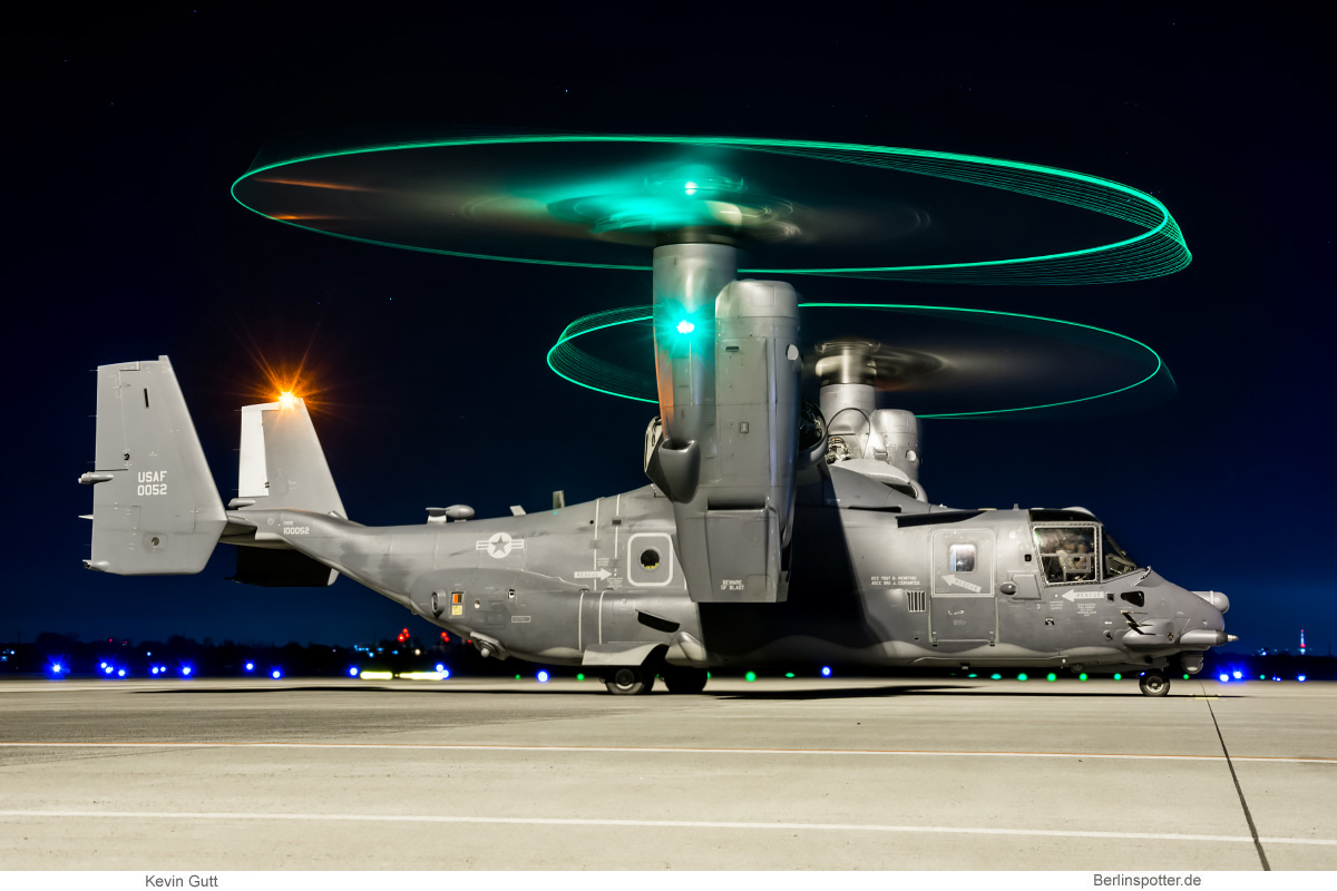 US Air Force Bell-Boeing CV-22B Osprey 10-0052