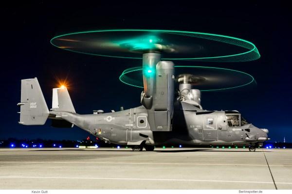 US Air Force, Bell-Boeing CV-22B Osprey 10-0052 (SXF 25.3.2019)